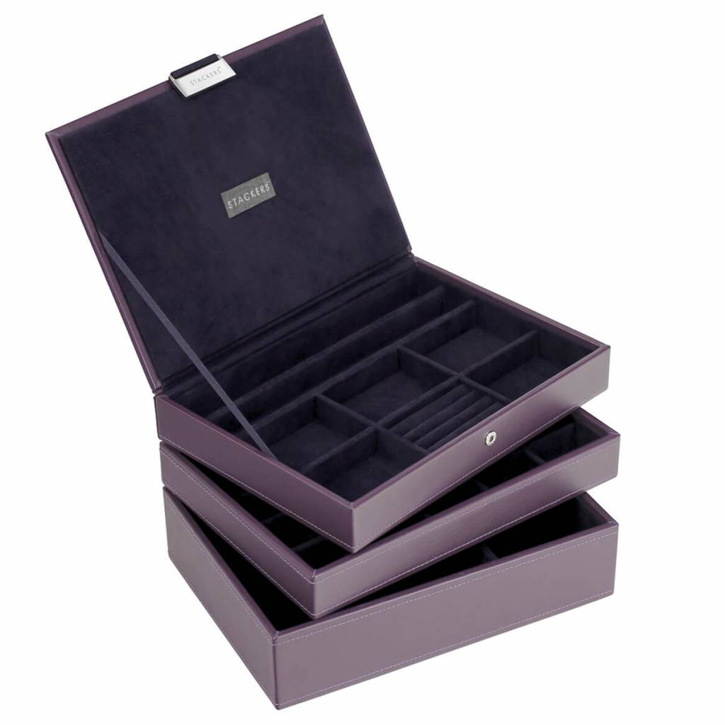 Sieradendoos Purple Classic set