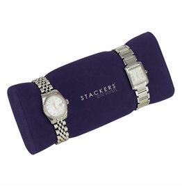 Stackers Sieraden-/horlogedoos Purple horloge/armbandhouder