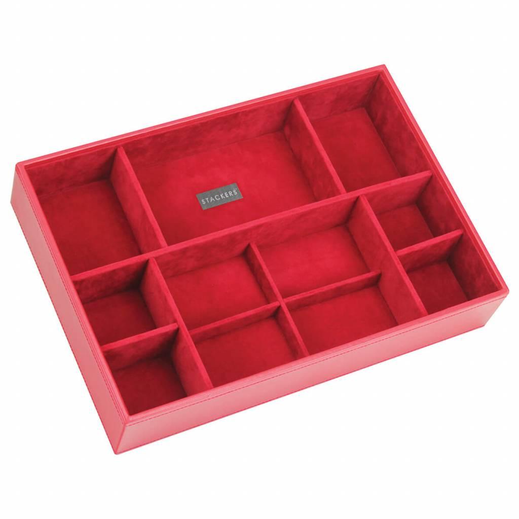 Sieradendoos Red Supersize 11-vaks voor horloges/accessoires