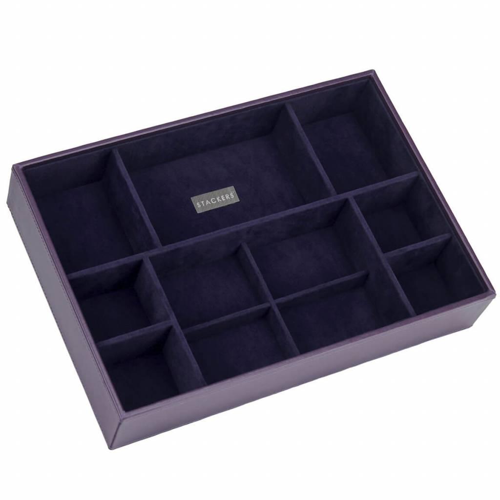 Sieradendoos Purple Supersize 11-vaks voor horloges/accessoires