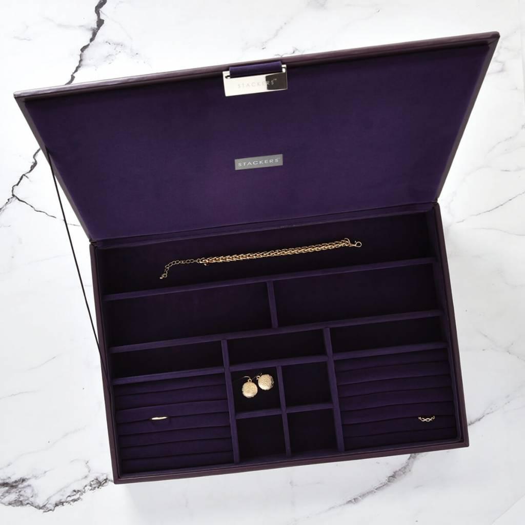 Sieradendoos Purple Supersize top