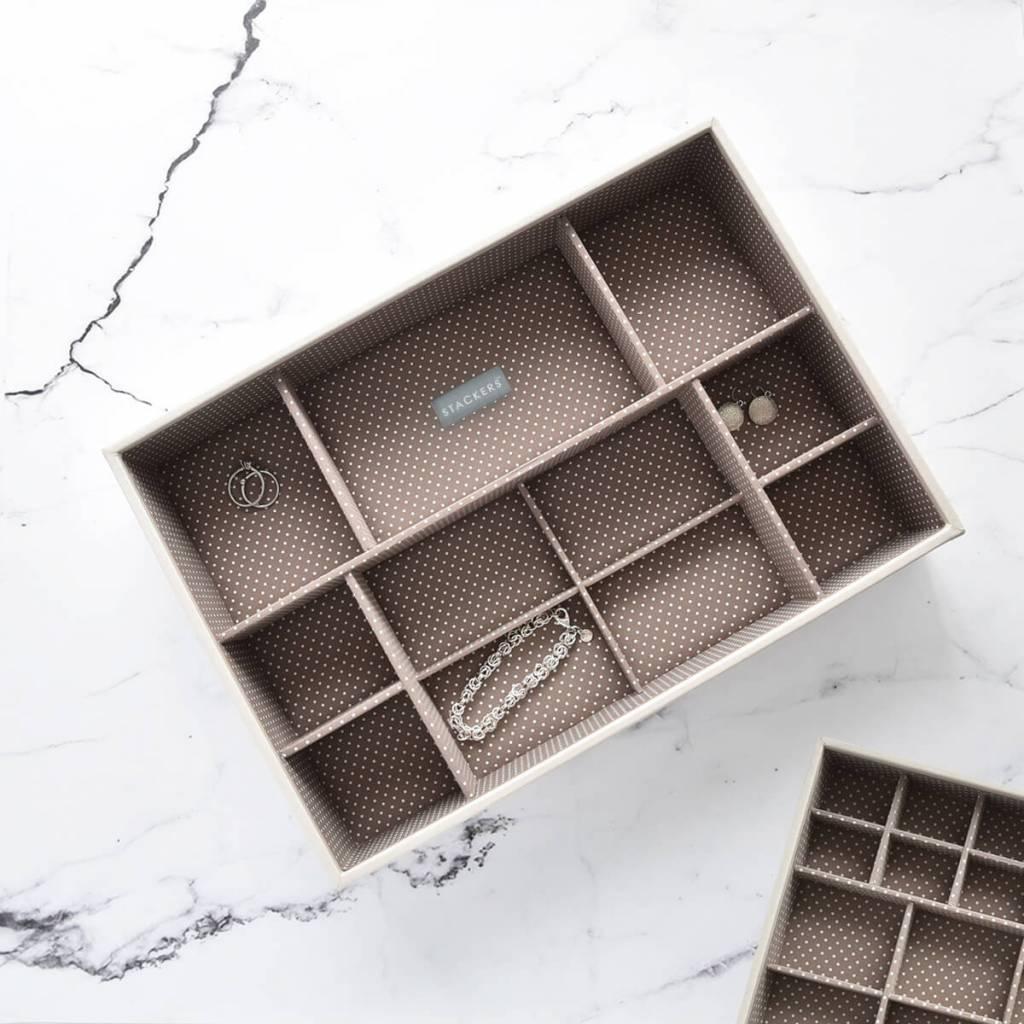 Sieradendoos Vanilla Supersize 11-vaks voor horloges/accessoires