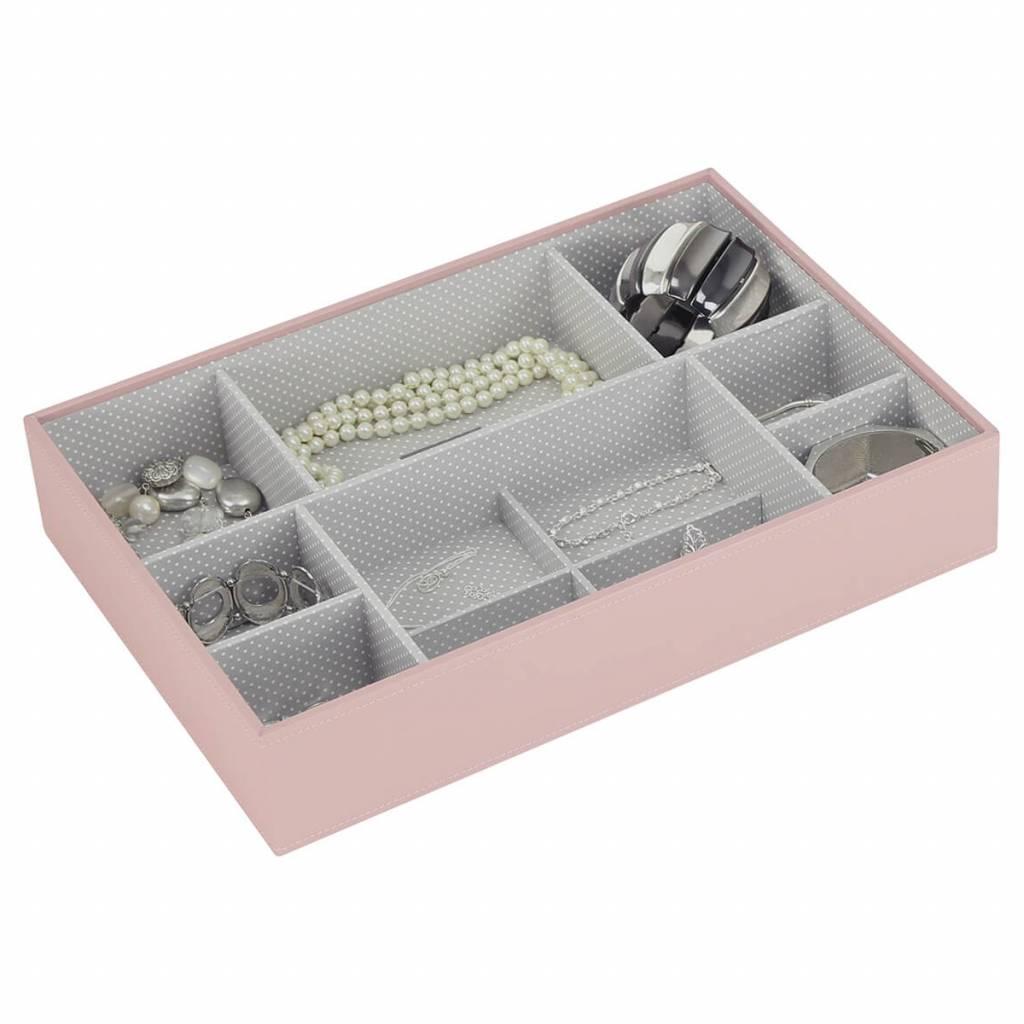 Sieradendoos Soft Pink Supersize 11-vaks voor horloges/accessoires
