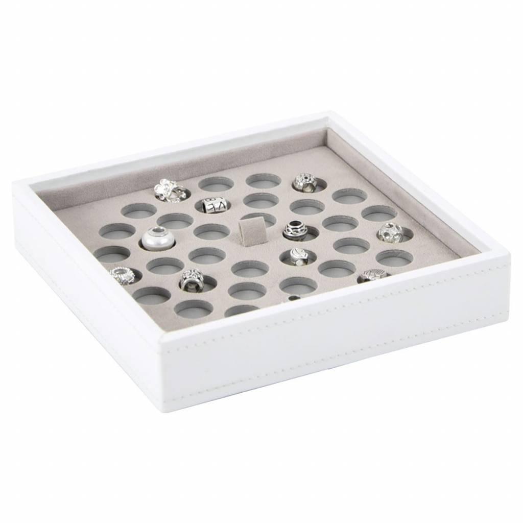 Charm Box Weiß 36 Stück