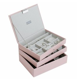 Stackers Sieradendoos Soft Pink Classic set
