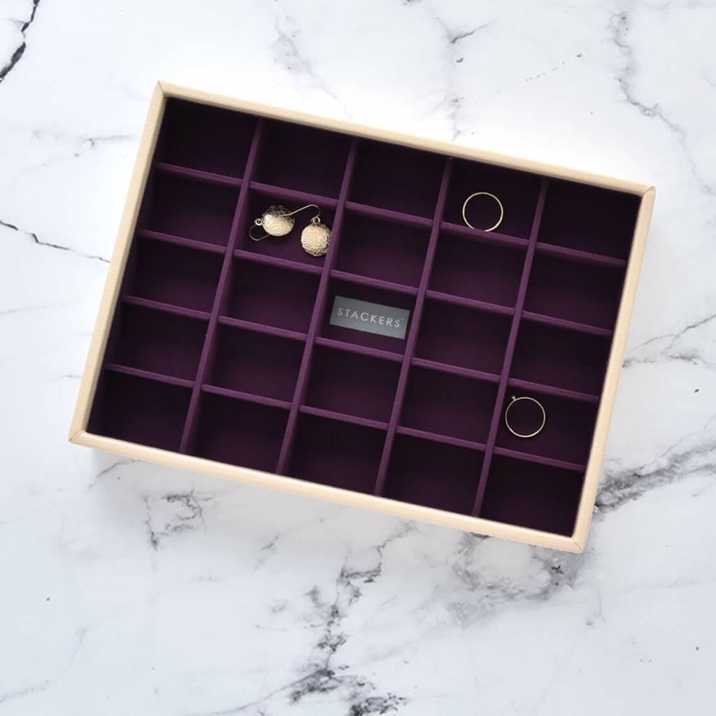 Sieradendoos Cream Classic 25-vaks voor kleine accessoires