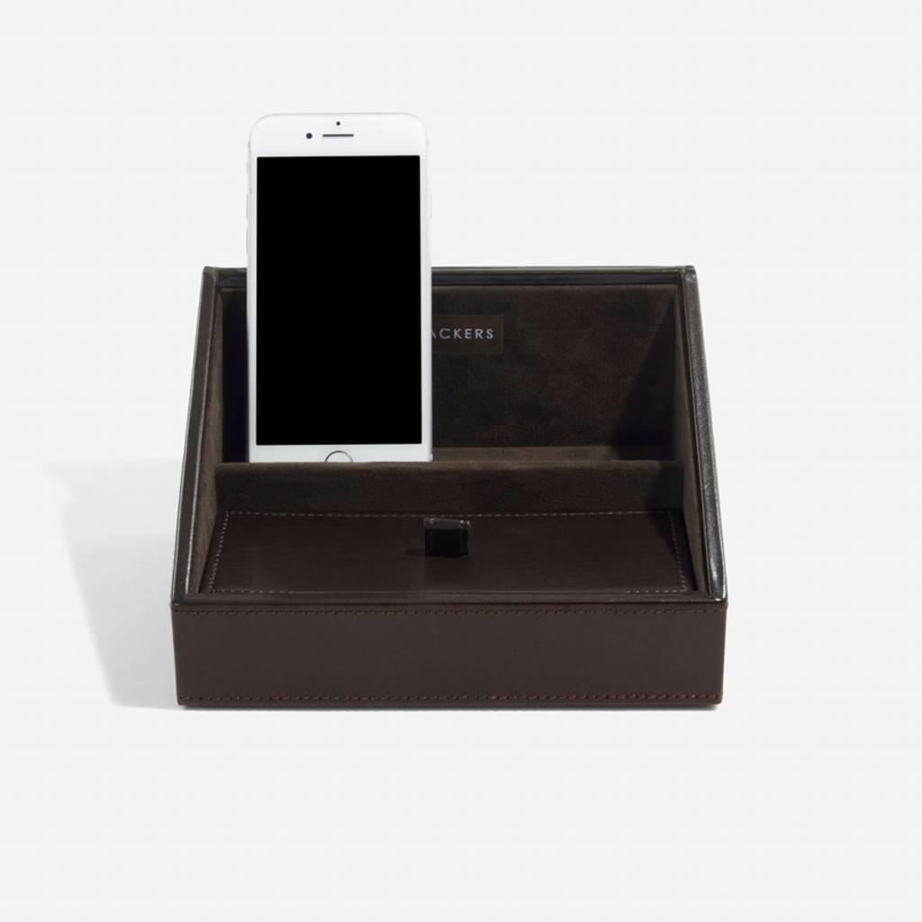 Chocolate Brown Mini telefoonhouder