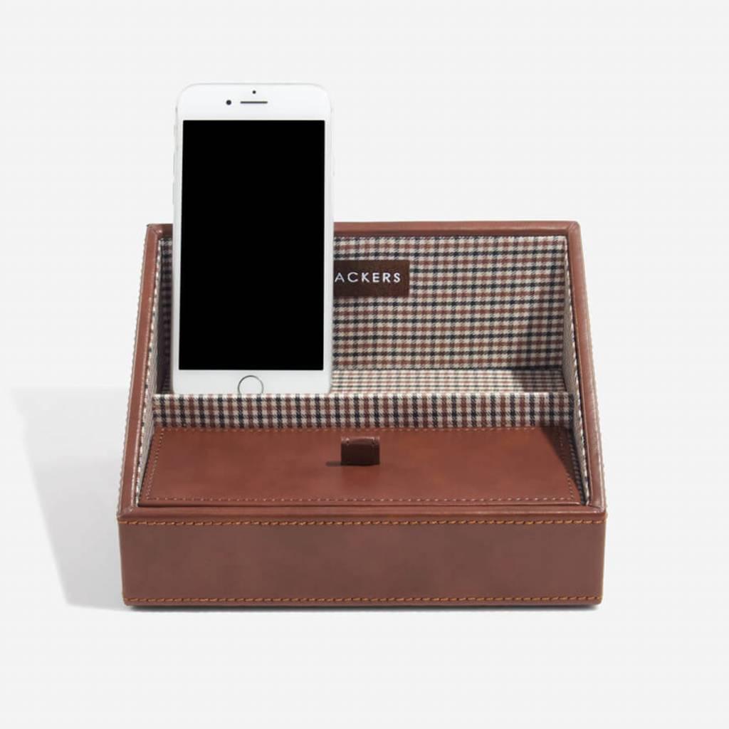 Tan Mini telefoonhouder