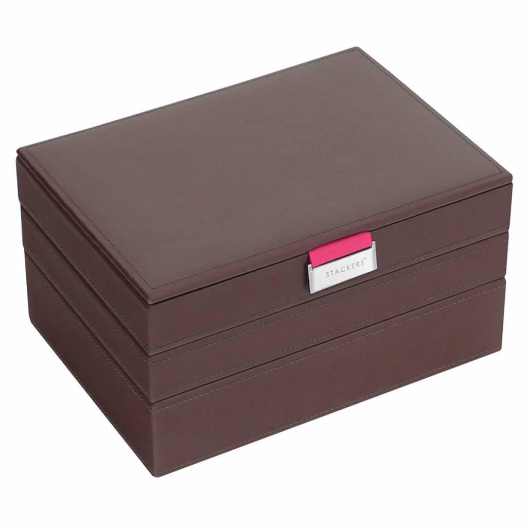 Sieradendoos Chocolate Brown Classic set