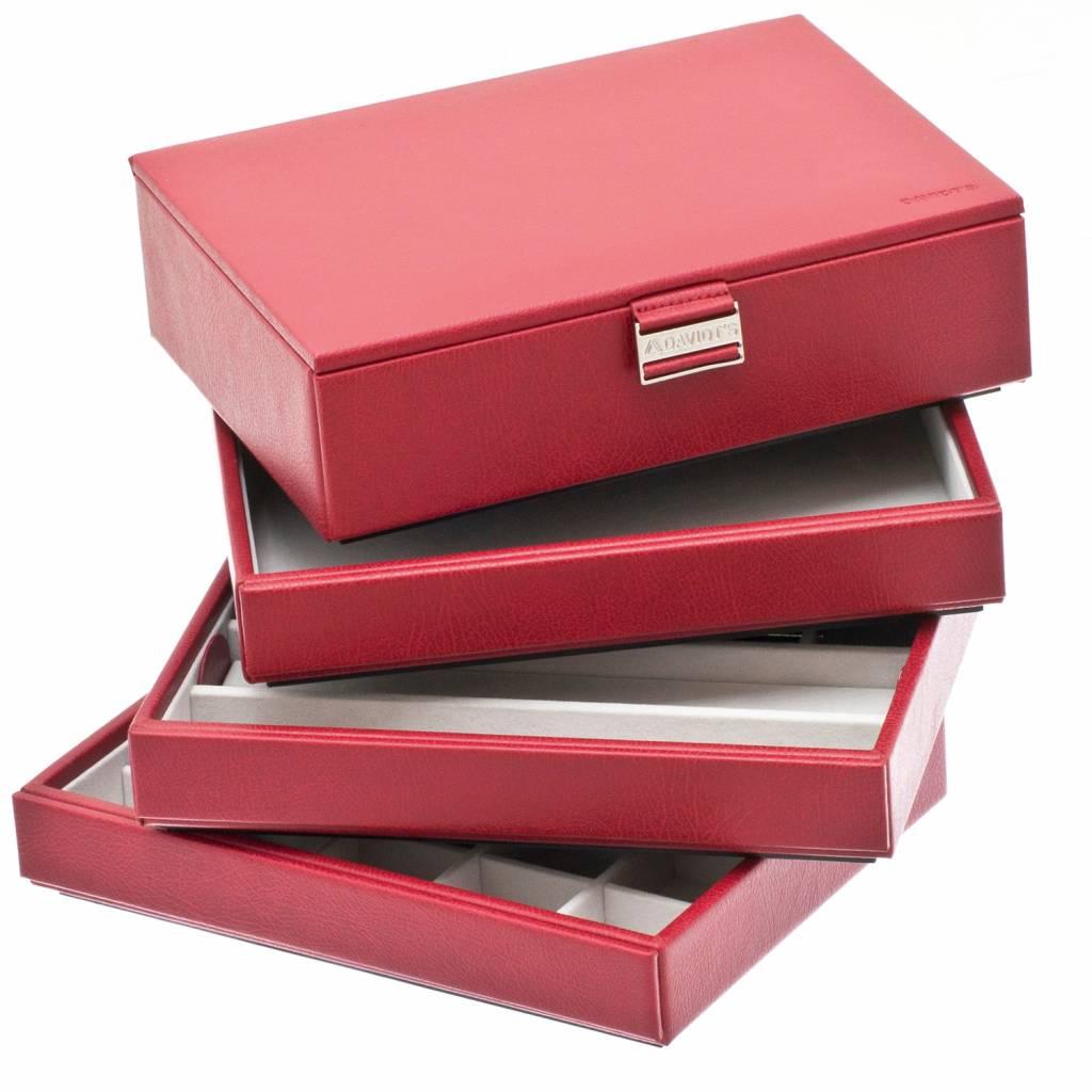 Schmuckbox Einheiten Rot komplett