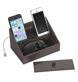 Stackers Chocolate Brown Mini telefoonhouder
