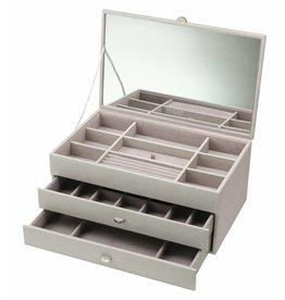 Boutique Boîte à bijoux taupe XL