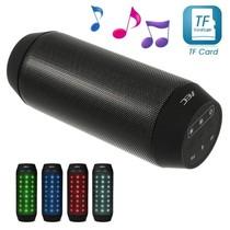 Multifunctionele Bluetooth LED Speaker - Zwart