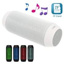 Multifunctionele Bluetooth LED Speaker - Wit