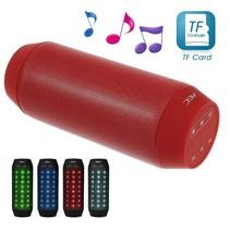 Multifunctionele Bluetooth LED Speaker - Rood