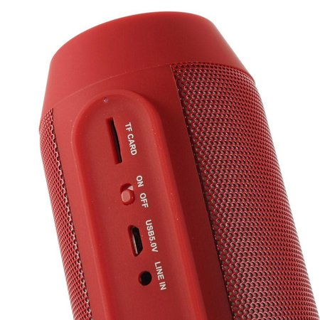 AEC AEC Multifunctionele Bluetooth LED Speaker - Rood