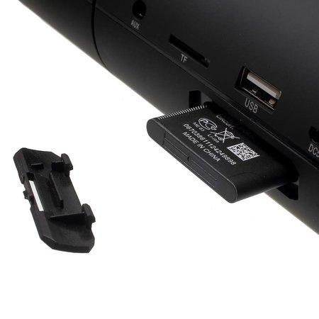 JKR-8800A NFC Bluetooth Speaker - Zwart