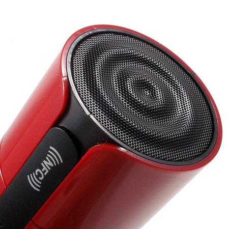 JKR-8800A NFC Bluetooth Speaker - Rood