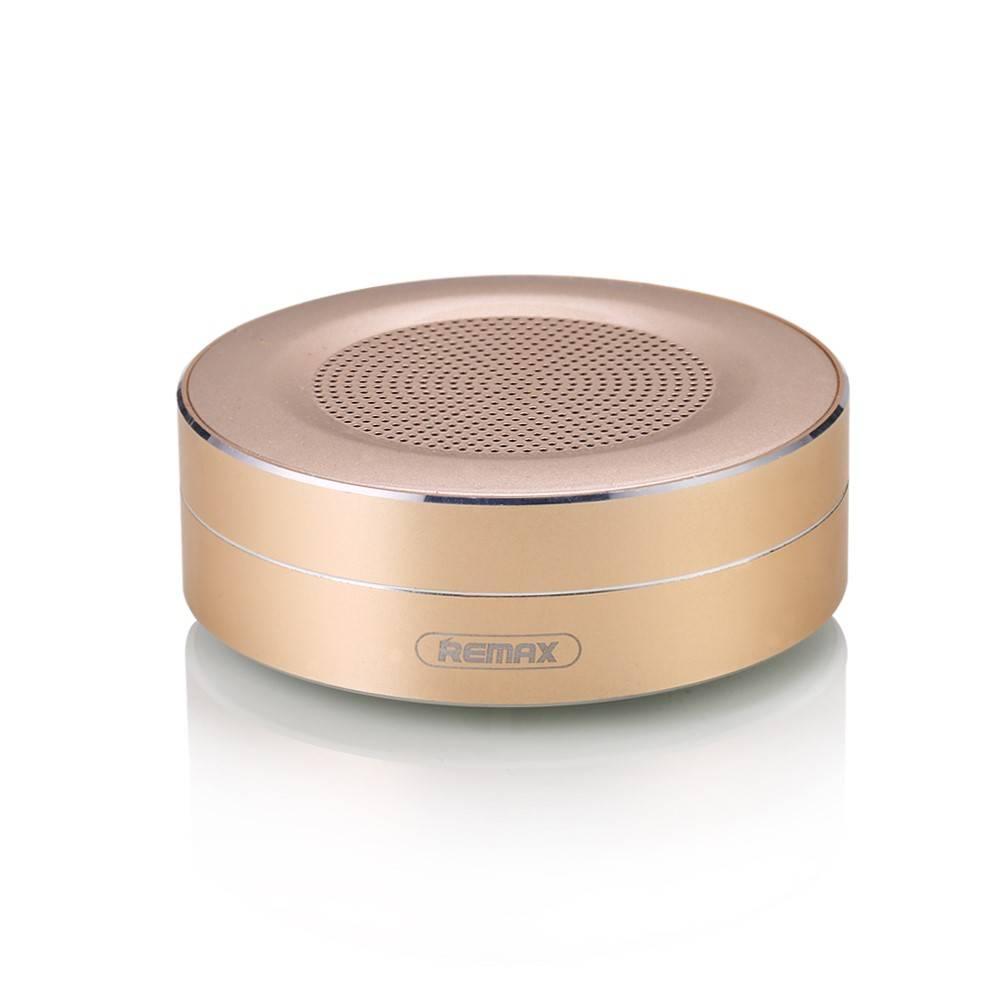 Remax Remax Mini Portable Bluetooth 4.0 Speaker - Goud