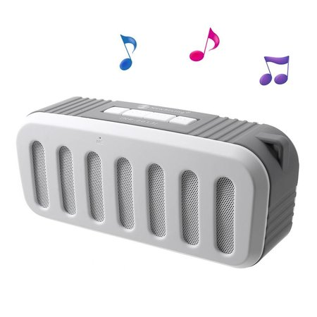 Newrixing Newrixing Portable Bluetooth Speaker - Wit