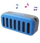 Newrixing Newrixing Portable Bluetooth Speaker - Blauw
