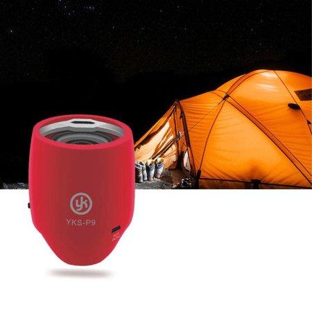 YK YK Mini Bluetooth 3.0 Speaker - Rood