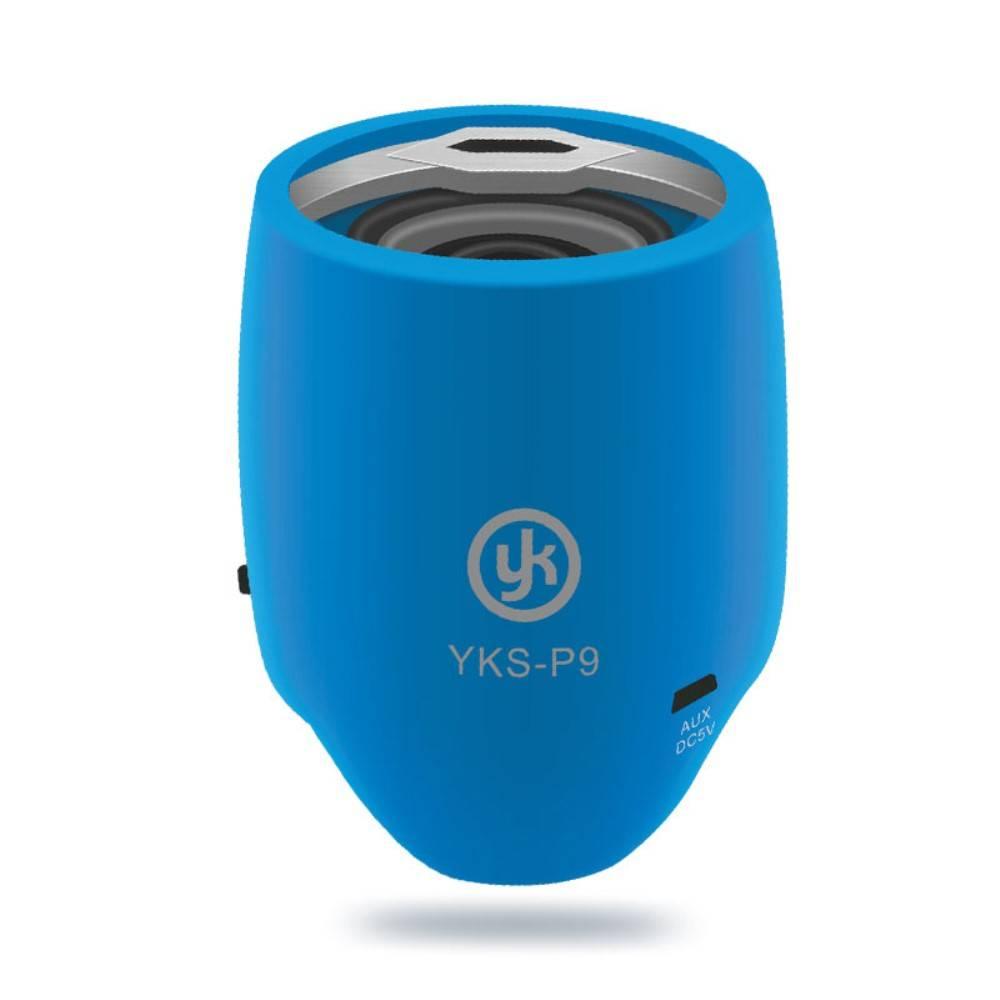 YK YK Mini Bluetooth 3.0 Speaker - Blauw
