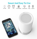 Bluetooth 4.0 Speaker LED Licht met Touch Sensor