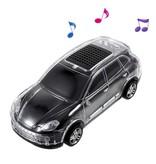 JKR JKR Auto Design LED Bluetooth Speaker - Zwart
