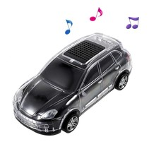 Auto Design LED Bluetooth Speaker - Zwart