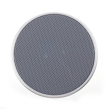 Mini Metalen Bluetooth Speaker - Zilver