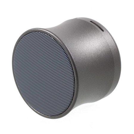 Mini Metalen Bluetooth Speaker - Grijs