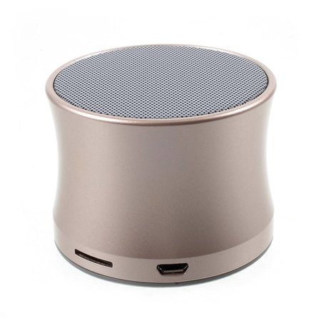 Mini Metalen Bluetooth Speaker - Goud