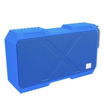 X-MAN Spatbestendig Bluetooth 4.0 Speaker met 5200mAh Powerbank - Blauw
