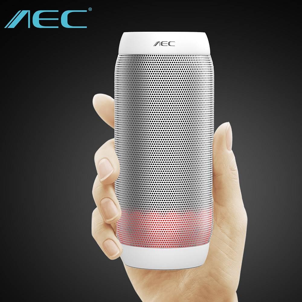 AEC AEC Speaker Kleurrijk LED Bluetooth 3.0 HiFi Stereo Speaker - Wit