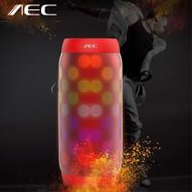 Speaker Kleurrijk LED Bluetooth 3.0 HiFi Stereo Speaker - Rood