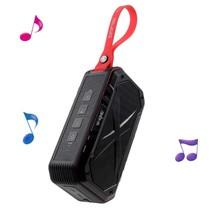 S18 Waterbestendige Speaker Bluetooth Speaker - Zwart / Rood
