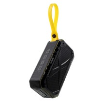 S18 Waterbestendige Speaker Bluetooth Speaker - Zwart / Geel