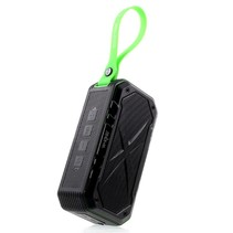 S18 Waterbestendige Speaker Bluetooth Speaker - Zwart / Groen