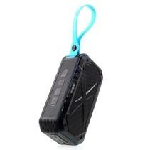 S18 Waterbestendige Speaker Bluetooth Speaker - Zwart / Blauw