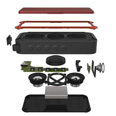 New Bee New Bee NB-S1 Outdoor Bluetooth Fiets Speaker - Rood