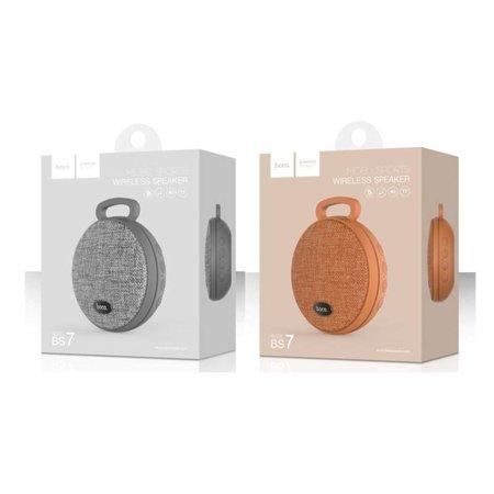 Hoco Hoco BS7 MoBu Draadloze Speaker - Grijs