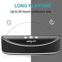 S2 Bluetooth Speaker met Sterke Accu - Zwart