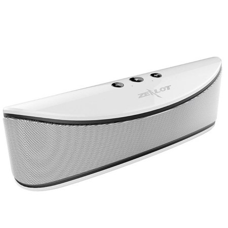 Zealot Zealot S2 Bluetooth Speaker met Sterke Accu - Zilver