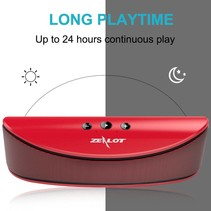 S2 Bluetooth Speaker met Sterke Accu - Rood