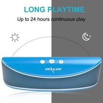 S2 Bluetooth Speaker met Sterke Accu - Blauw