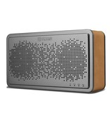 Icarer Icarer Genuine Lederen Beklede Bluetooth Speaker - Bruin