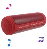 T3 Bluetooth Speaker (waterbestendig) - Rood