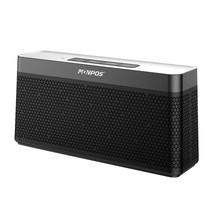C6 Mesh Design Bluetooth 4.2 Hifi Speaker - Zwart