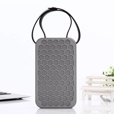 JKR-2 Hexagon Design Bluetooth Speaker - Grijs